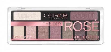Catrice The Dry Rosé Collection Eyeshadow 010, paleta cieni do powiek