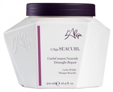 L`Alga Seacurl, odżywcza maska do włosów kręconych, 500ml