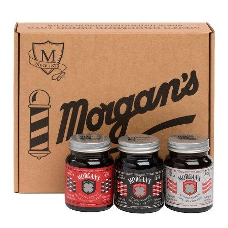"""Morgan's, Pomade Box, zestaw """"Pomady"""", 3x100ml"""