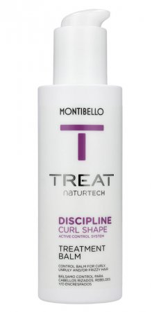 Montibello Treat Naturtech, balsam do włosów puszących się Discipline Shape, 150ml