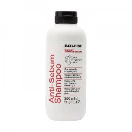 Solfine Care Anti-Sebum, szampon do przetłuszczających się włosów, 350ml