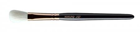 Hakuro J127, pędzel do rozświetlacza i cieni do powiek, czarny