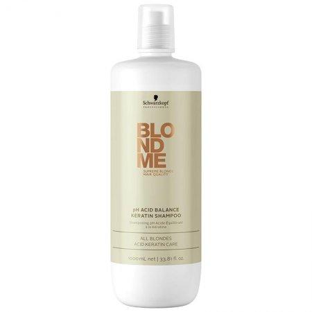 Schwarzkopf BlondMe, szampon keratynowy do włosów blond, 1000ml