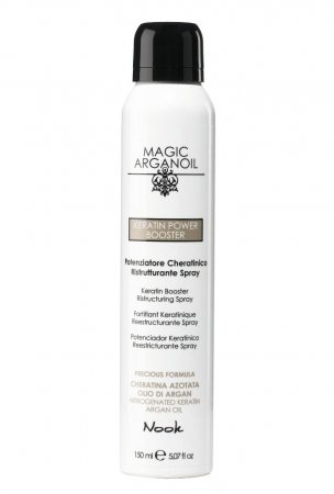Nook Magic Arganoil, spray keratynowy Power Booster, 150ml