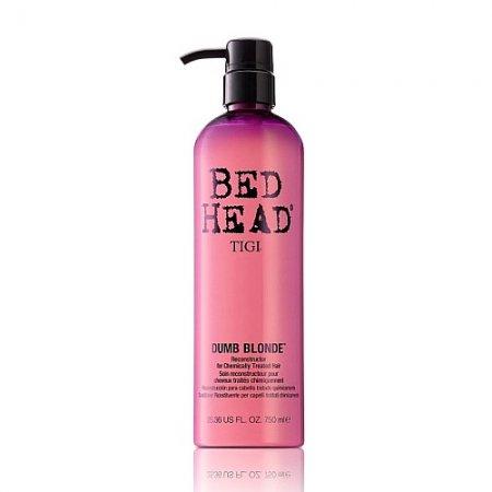 Tigi Bed Head Dumb Blonde, rekonstruktor do włosów zniszczonych zabiegami chemicznymi, 750ml