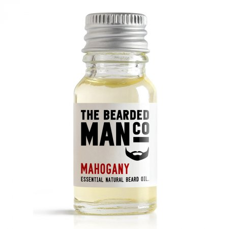 Bearded Man Mahogany, olejek do brody Mahoń, 10ml