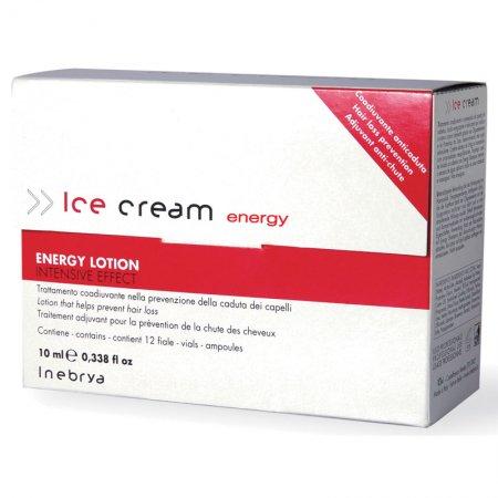 Inebrya Energy, lotion przeciw wypadaniu włosów, 12x10ml