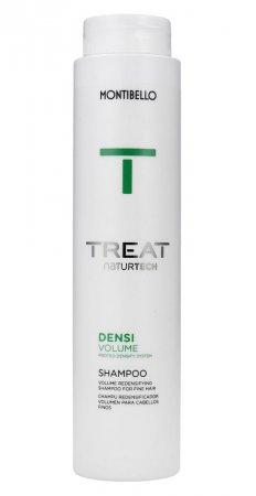 Montibello Treat Naturtech, szampon do włosów cienkich Densi Volume, 300ml