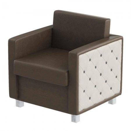 Fotel do poczekalni fryzjerskiej Panda Comodo