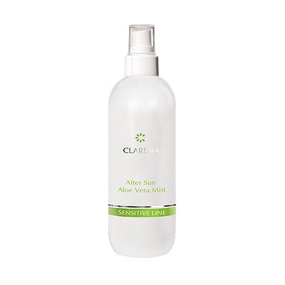 Clarena Sensitive Line After Sun, łagodząca mgiełka po opalaniu, 200ml