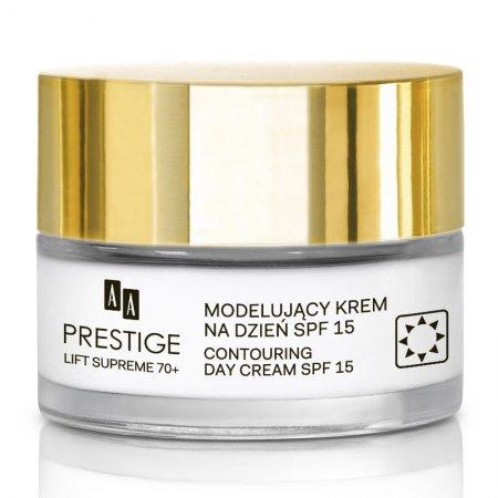 AA Prestige Lift Supreme, modelujący krem na dzień, 70+, SPF 15, 50ml