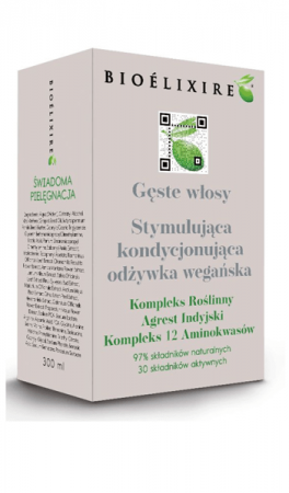 """Bioelixire, odżywka przeciw wypadaniu włosów """"Gęste Włosy"""", 300ml"""