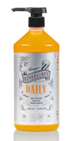Beardburys Daily, szampon do codziennej pielęgnacji włosów, 1000ml