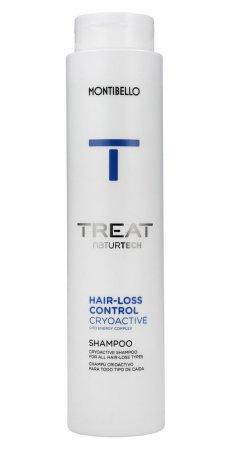 Montibello Treat Naturtech, szampon przeciw wypadaniu włosów Hair-Loss Cryoactive, 300ml