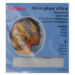 Solida siatka na włosy Non Plus Ultra rzadka 2szt