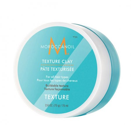 Moroccanoil Texture, glinka teksturyzująca do włosów, 75ml