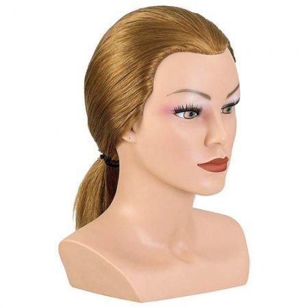 Bergmann główka treningowa Competition, rzęsy, 100% naturalne włosy, 20-25cm, ref. 091027