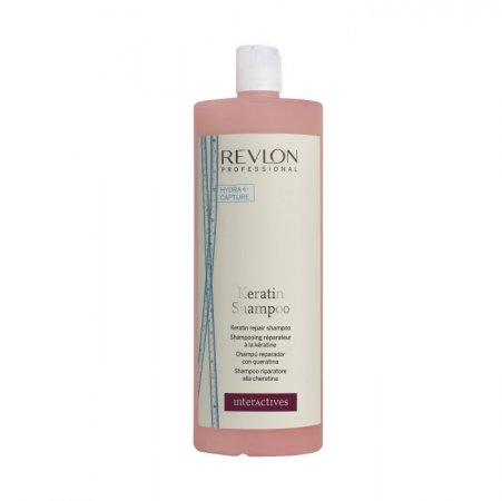 Revlon Interactives Keratin, szampon regenerujący z keratyną, 1250ml