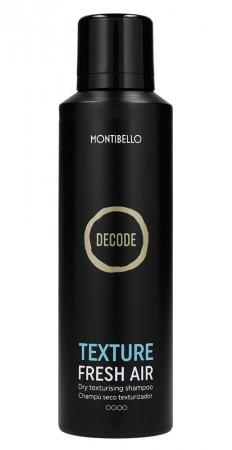 Montibello Decode, suchy szampon do włosów Texture Fresh Air, 200ml