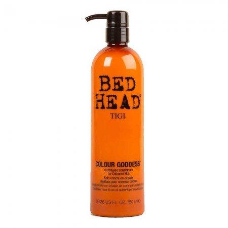 Tigi Bed Head Colour Goddess, odżywka do włosów farbowanych dla brunetek i rudych, 750 ml