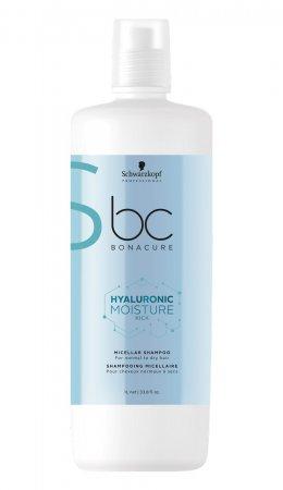 Schwarzkopf BC Moisture Kick, micelarny szampon nawilżający, 1000ml