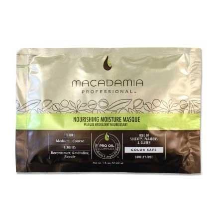 Macadamia Professional Nourishing Moisture, nawilżająca maska do włosów cienkich, 30ml
