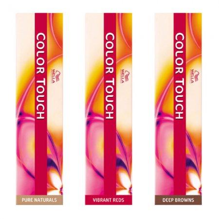 Krem tonujący bez amoniaku Wella Color Touch, 7/75, 60ml - zabrudzenia