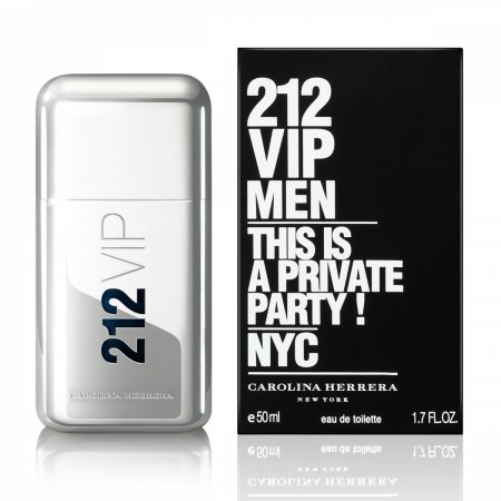 Carolina Herrera 212 VIP Men, woda toaletowa, 200ml (M)
