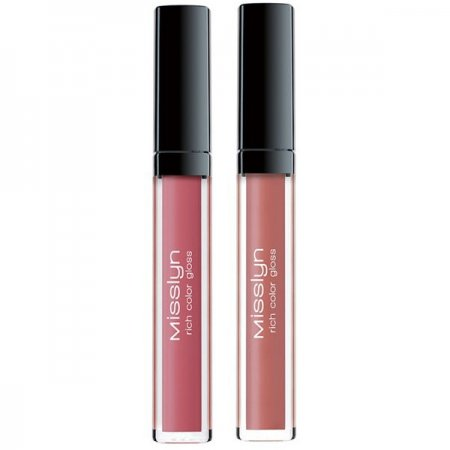 Misslyn Rich Color Gloss, kremowy błyszczyk do ust, 4,5ml