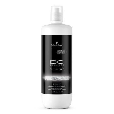 Schwarzkopf BC Fibre Force, szampon regenerujący z keratyną, 1000ml