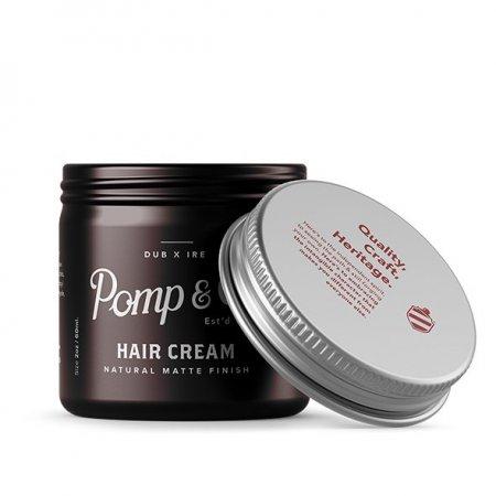 Pomp&Co. Hair Cream, matowa pasta do włosów, 60g