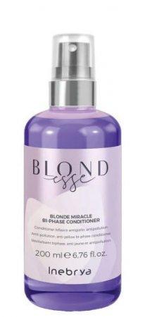 Inebrya Blondesse, odżywka dwufazowa do włosów blond, 200ml