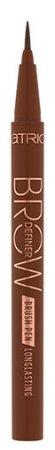 Catrice Brow Definer Brush, długotrwały liner do brwi, Chocolate Brown 030, 0,7ml
