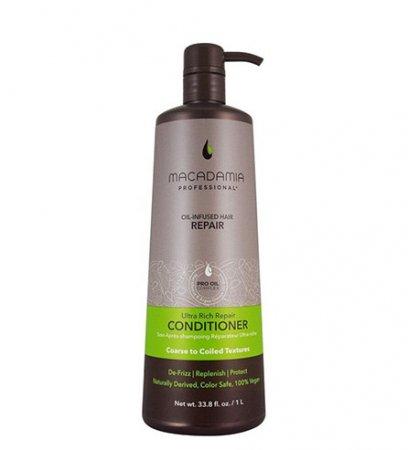 Macadamia Professional Vege, regenerująca odżywka do włosów bardzo grubych, 1000ml