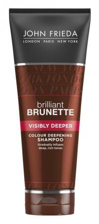 John Frieda Brilliant Brunette, szampon pogłębiający ciemne odcienie, 250ml