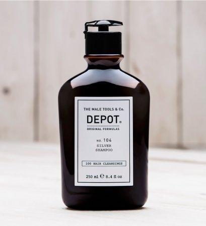 Depot No. 104, szampon do włosów siwych, 250ml