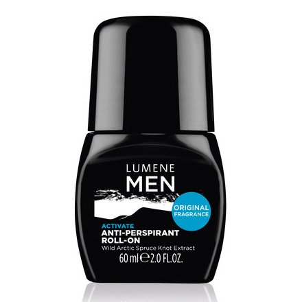 Lumene Men Active, antyperspirant w kulce, 60ml