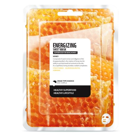 Superfood for Skin, maseczka energetyzująca, miód