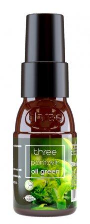 Three Therapy Oil green, olejek do włosów farbowanych, 30ml