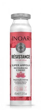 Inoar Resistance Lotus, ampułka do włosów osłabionych, 45ml