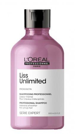 Loreal Liss Unlimited, szampon wygładzający, 300ml