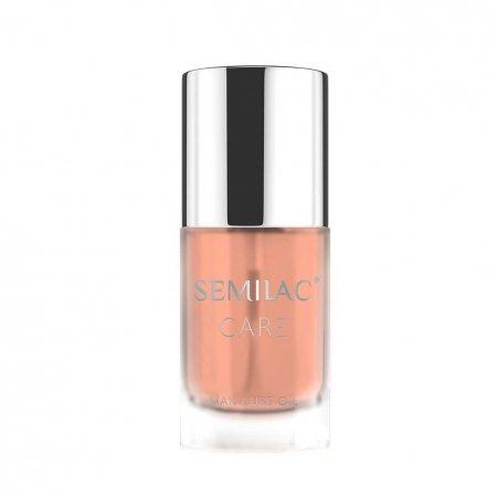 Semilac Manicure Oil Peach, oliwka do paznokci, 7ml