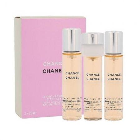 Chanel Chance, woda toaletowa, 3x20ml (W)
