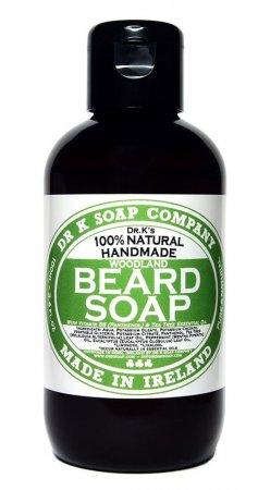 Dr K Soap Company, męski szampon do brody o zapachu drzewa cedrowego, 100ml