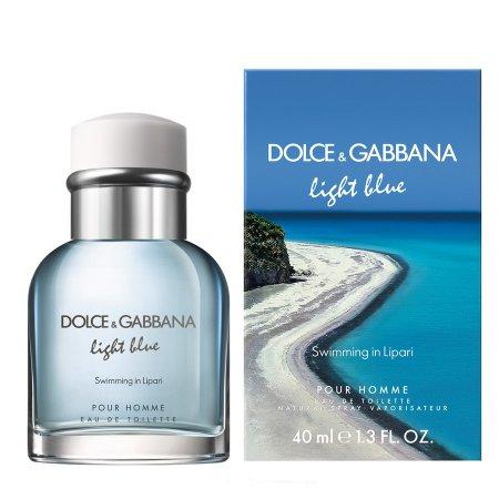 Dolce & Gabbana Light Blue Swimming in Lipari, woda toaletowa, 40ml (M)