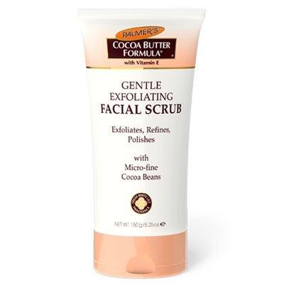 Palmers CBF, łagodny peeling do twarzy z masłem kakaowym, 150ml