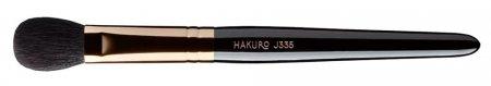 Hakuro J335, pędzel do cieni i konturowania, czarny