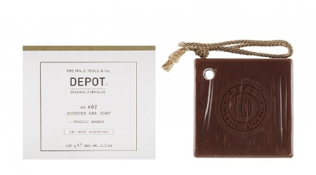 Depot No. 602, mydło do ciała, Mystic Amber, 100g