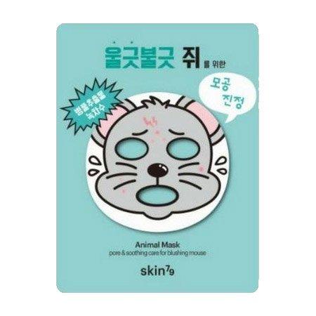 SKIN79, Animal Mask, maska w kształcie zwierząt, mysz, 23g