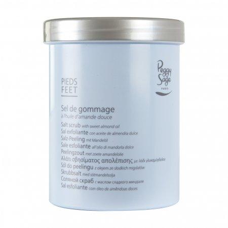 Peggy Sage, sól-peeling z olejem ze słodkich migdałów, 400ml, ref. 550315